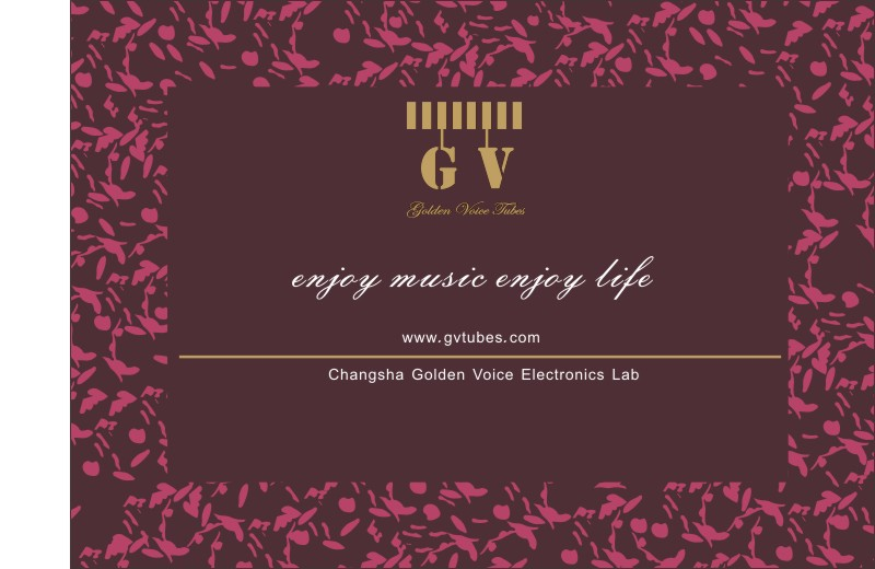 Golden Voice Tubes, GV Tubes